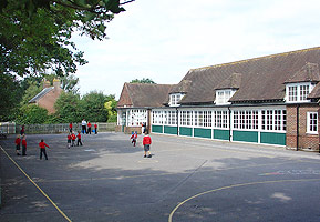 Front of Tiptoe School